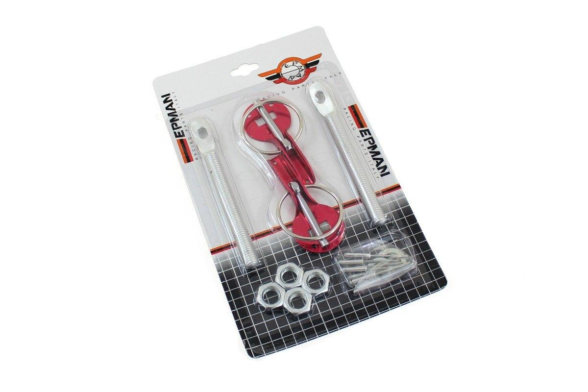 Zapinki maski EPMAN Red